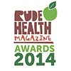 The Rude Health Awards logo