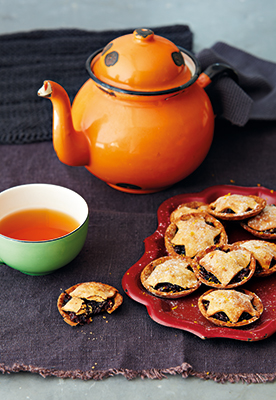 A photo of some mince pies