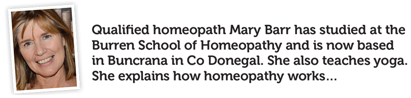 A photo of homeopath Mary Barr